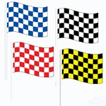 CheckerAntenna Flags (Economy)