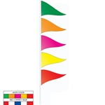 Heavy-Duty Cloth Antenna Pennants