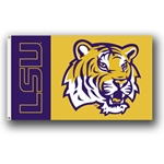 Louisiana State Tigers 3x5 Flag