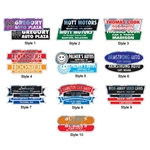Domed Auto Stickers